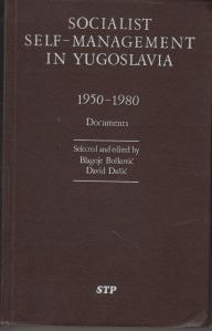 Self-Management Yugoslavia