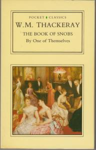 Thackeray Snob Cover
