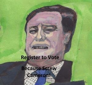 Screw Cameron Drawing