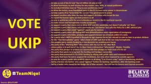Anti-UKIP Vote Meme