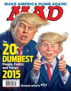 Trump Mad Cover
